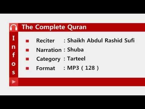 Quran By Shaikh Abdul Rashid Sufi