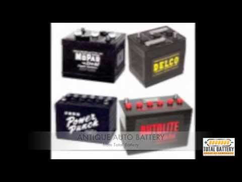 Antique Auto Battery from Total Battery
