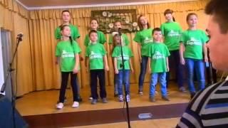 Республиканский фестиваль патриотической песни. Группа