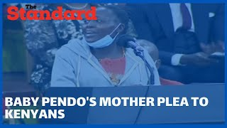 Baby Pendo\'s mother emotional message to Kenyans during the launch of  BBI report at Bomas of Kenya