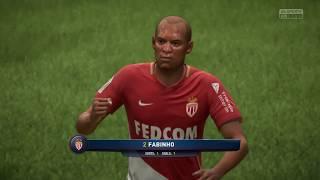 FIFA 18   Amiens vs As Monaco   Ligue 1 Conforama 2017/18   Full Gameplay PS4