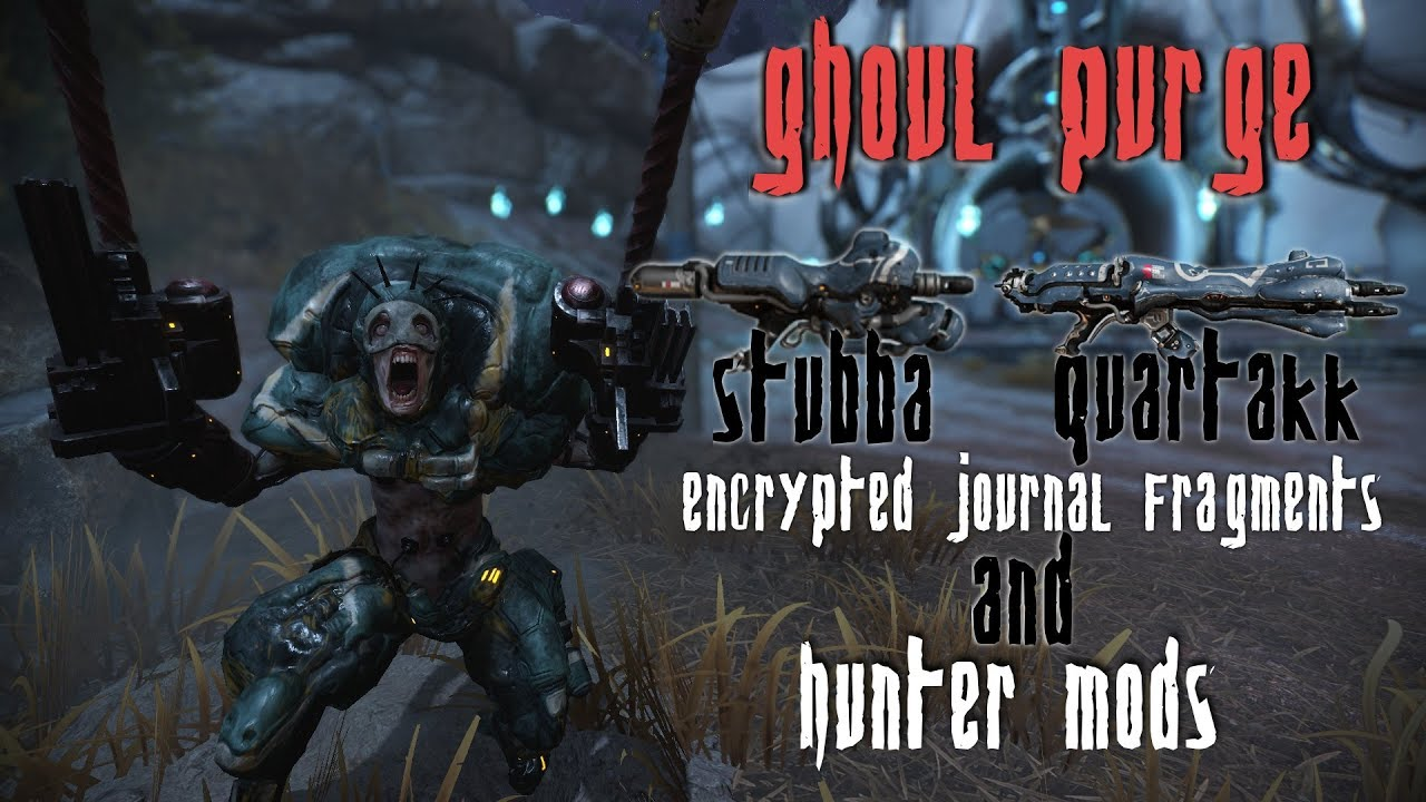 Warframe Ghoul Purge Event Drops Guide Youtube