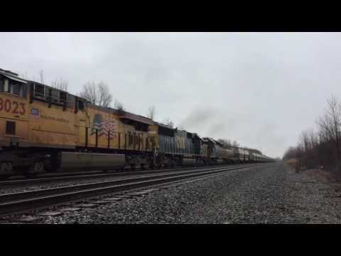 CSX with Yard Slug 1068