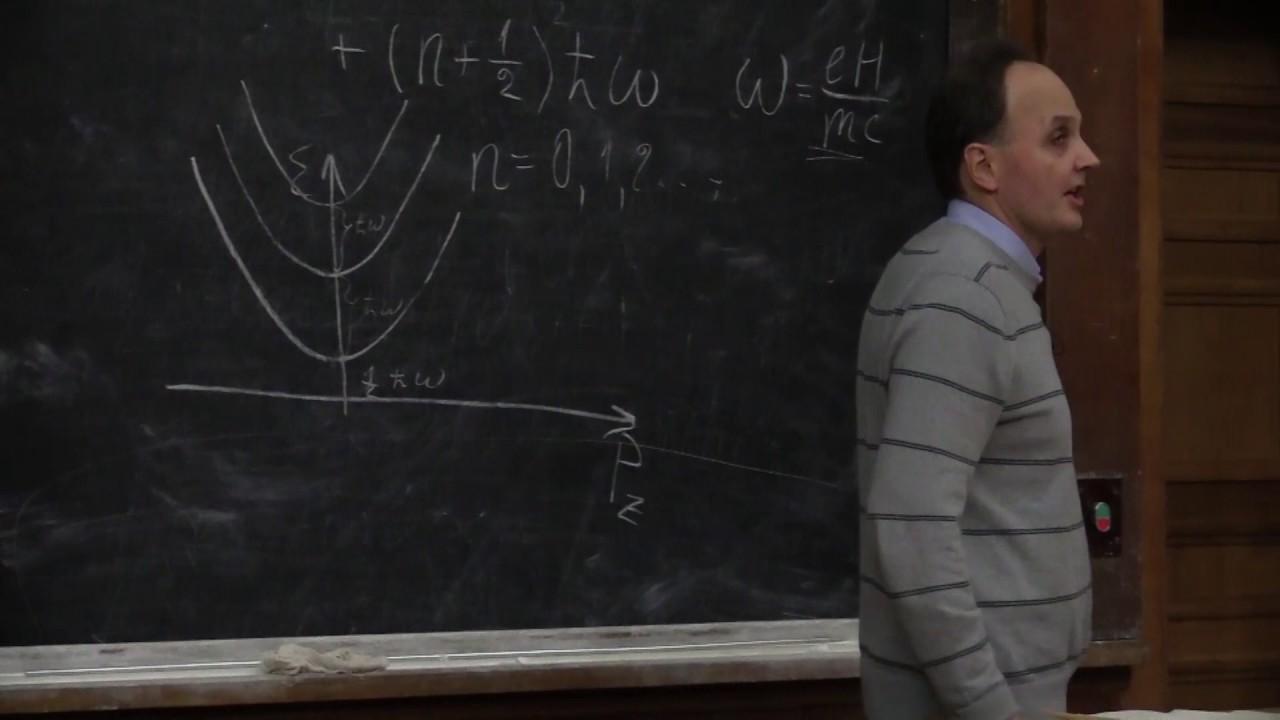 Хохлов Д. М. - Основы физики конденсированного состояния вещества - Лекция 5