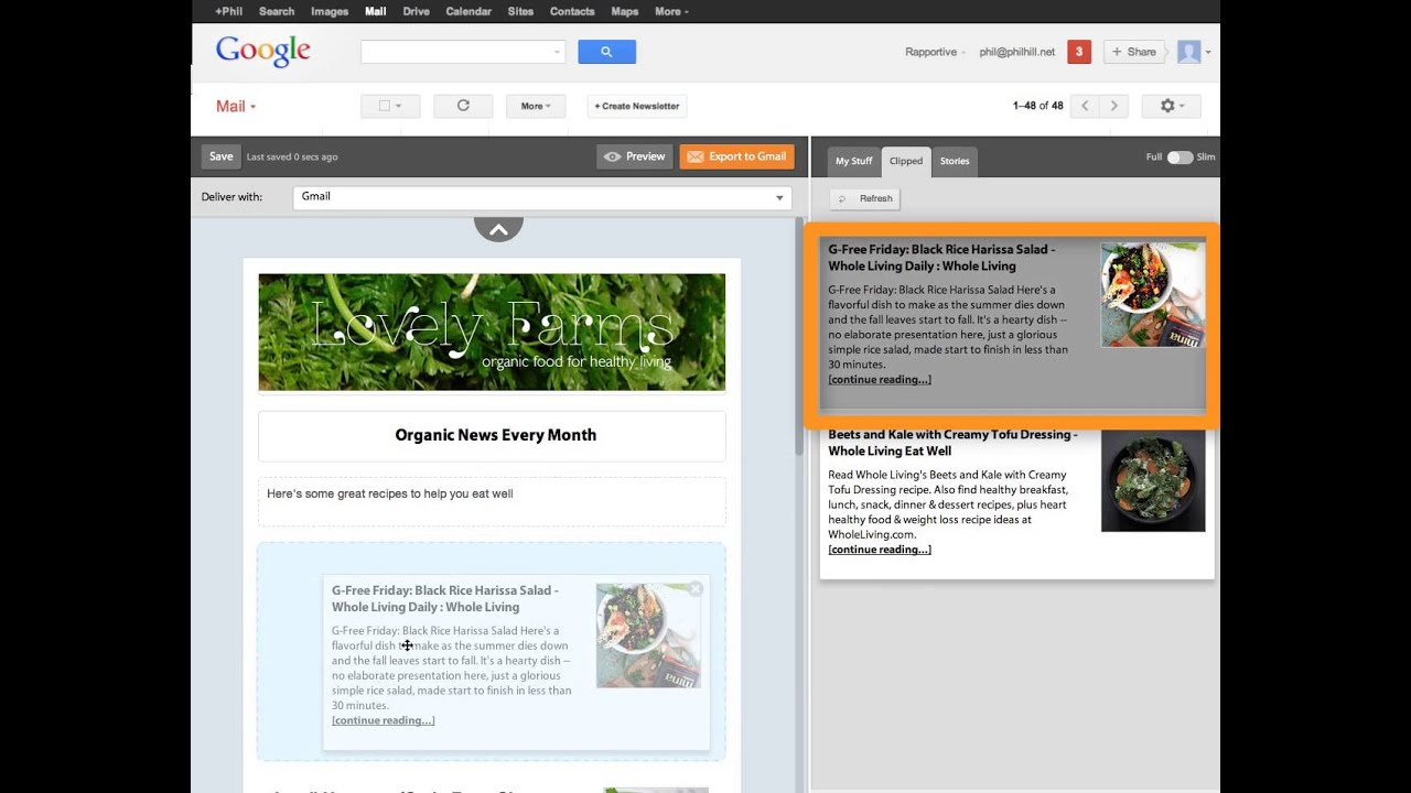 How To Create A Newsletter In Gmail