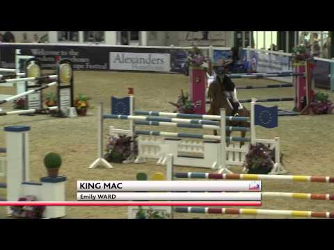 Showjumping -   Emily Ward  - Scope 2014
