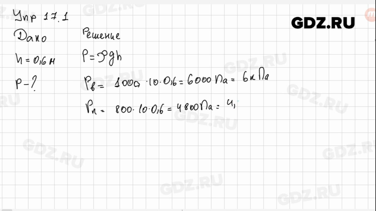Гдз по физике 7 класс филовичь