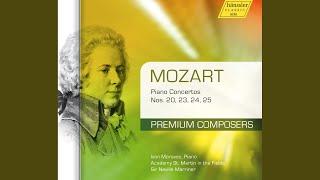 Piano Concerto No. 25 in C Major, K. 503: II. Andante