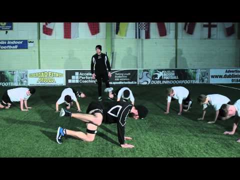 Glute Activation Exercises | Youth Soccer Training