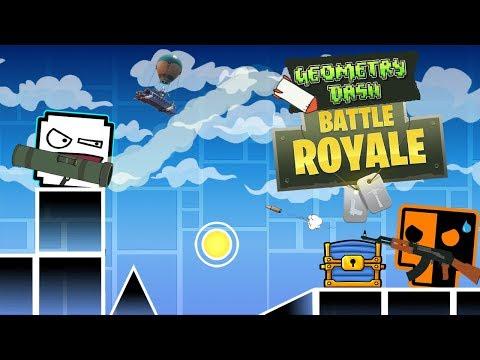 El Battle Royale de Geometry Dash! | GD Battle Royale