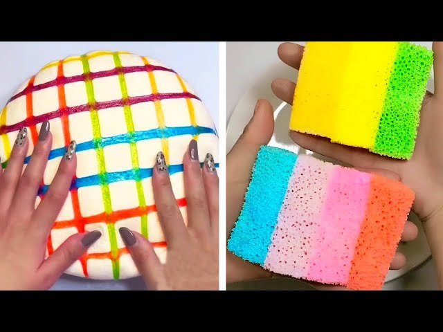 The Most Satisfying Slime ASMR Videos | New Oddly Satisfying Compilation 2019 | 44