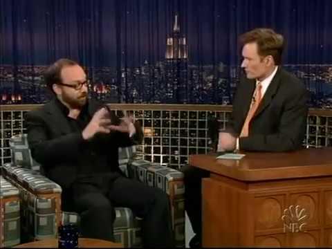 Conan O'Brien 'Paul Giamatti 11/25/04