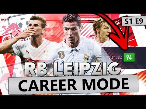SIGNING THE NEXT CRISTIANO RONALDO!!! FIFA 18 CAREER MODE RB LEIPZIG #9