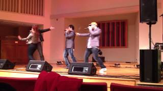 "Blue Jupiter, ""Whatever Lola Wants"" (from Damn Yankees), a cappella, live, 12/6/13, Arlington VA"