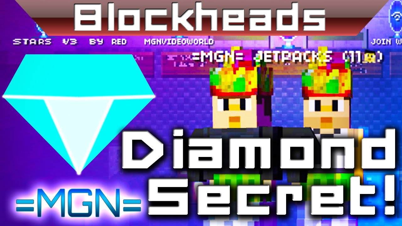 how to find diamonds in blockheads