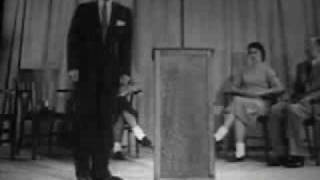 public speaking movement and gesture highlights 1940s