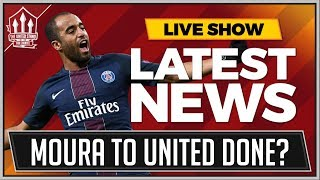 Lucas MOURA To MAN UTD! FELLAINI To PSG! Manchester United Transfer NEWS