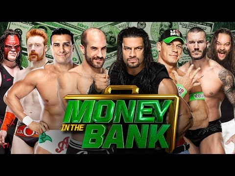 Money in The Bank 2014 WWE World Heavyweight Championship Ladder Match