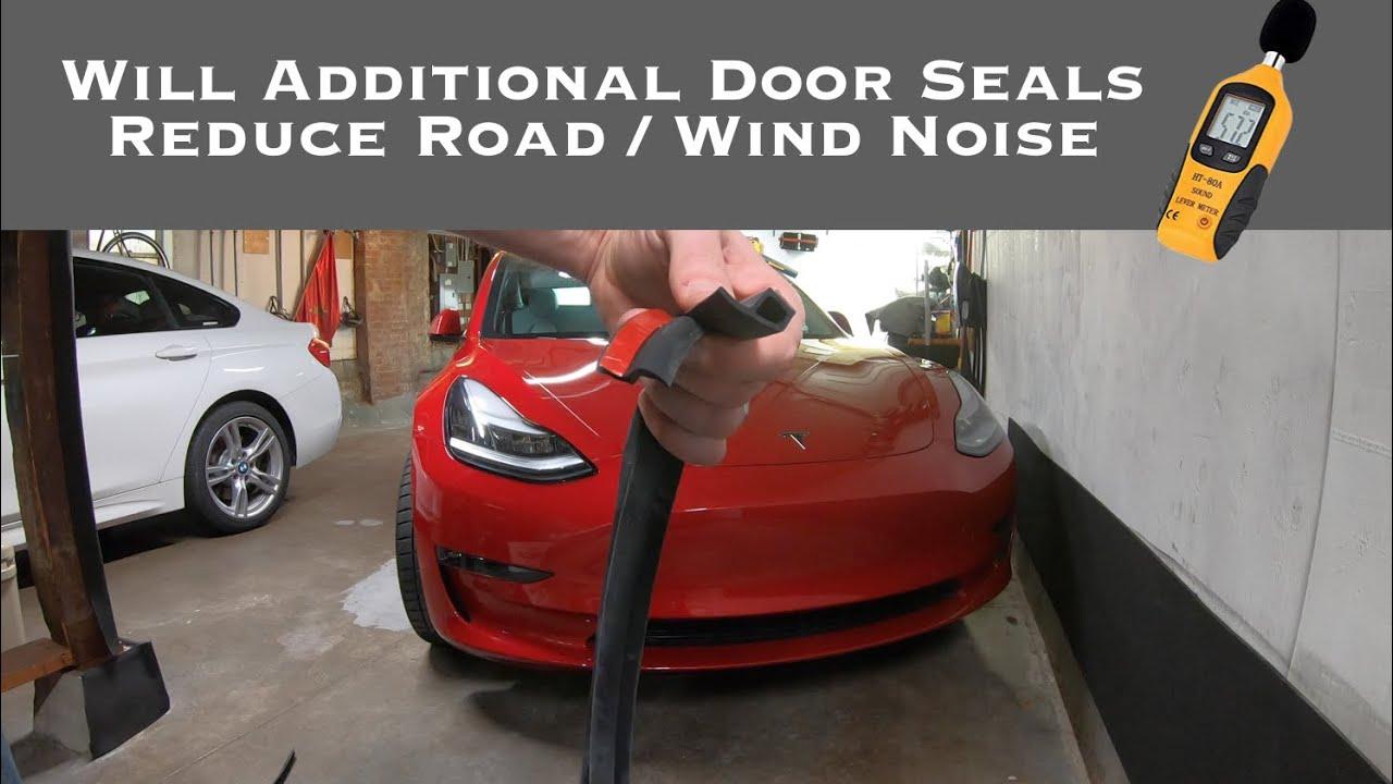 Tesla Model 3 - Additional Door Seals