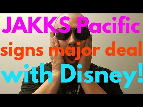 JAKKS Pacific signs major deal with Disney!