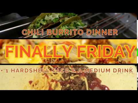 Friday Daily Special at Tacoville Omaha
