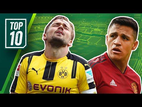 Die 10 überbewertetsten Spieler Europas! Top 10 feat. David Luiz, James und Coutinho!