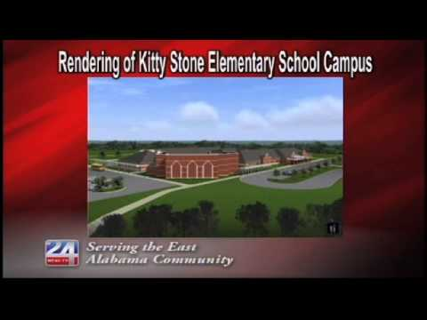 Rendering of Kitty Stone Elementary School Campus