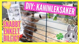 DIY: Kaninleksaker   Snabbt, enkelt och billigt