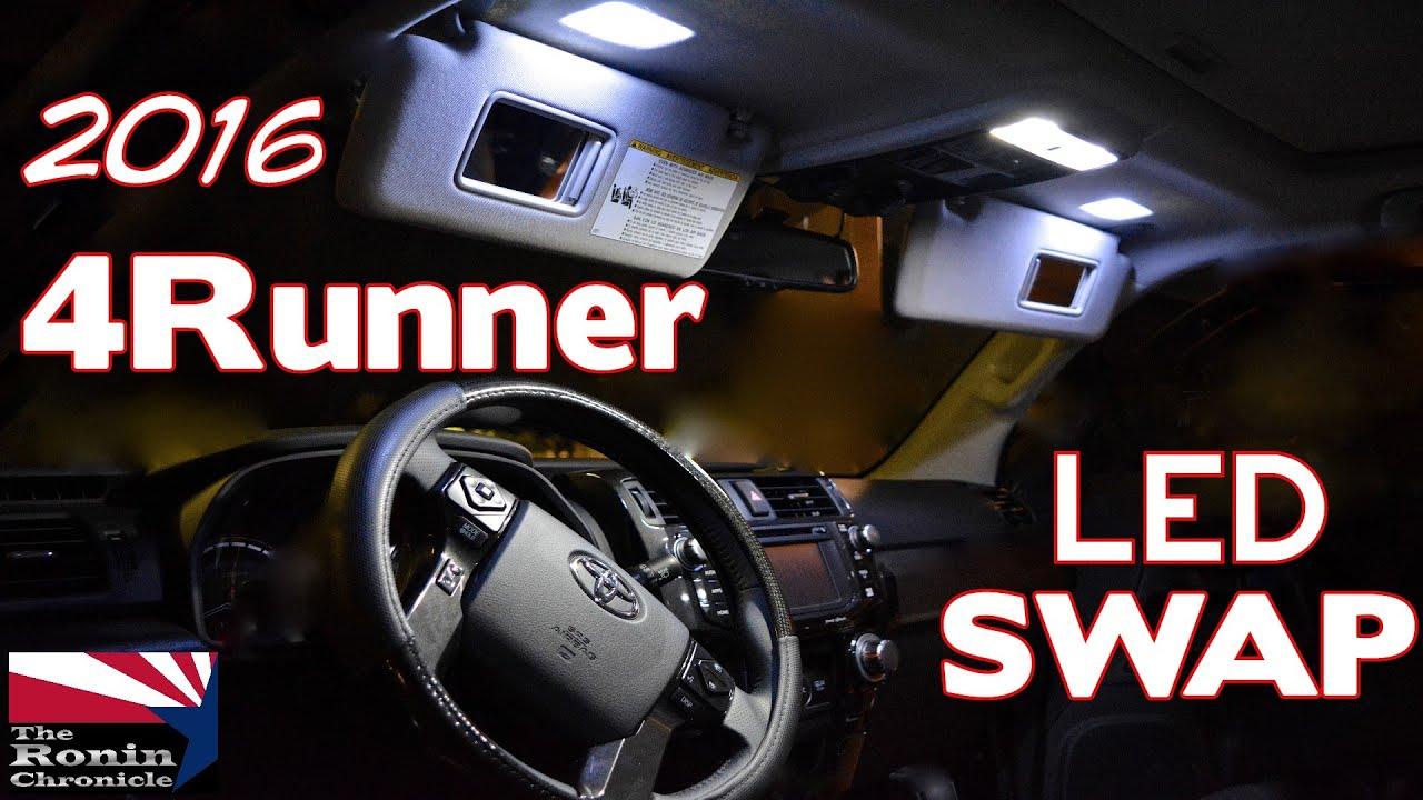 2017 Toyota 4runner Led Swap You
