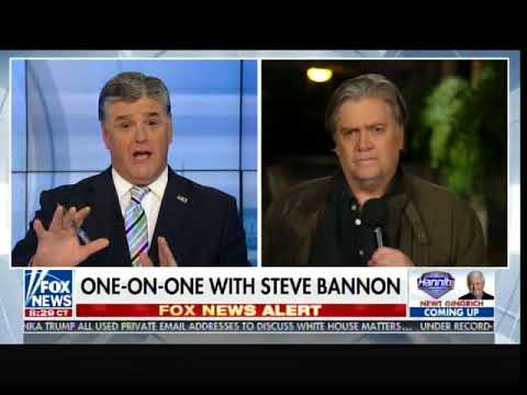 Steve Bannon: I Wear Mitch McConnell