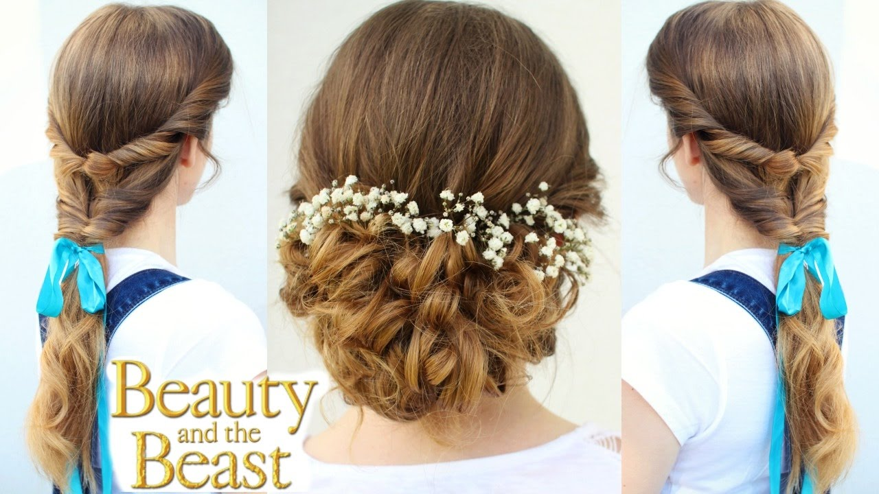 Emma Watson S Belle Inspired Hairstyles Beauty And The Beast Hairstyles Braidsandstyles12