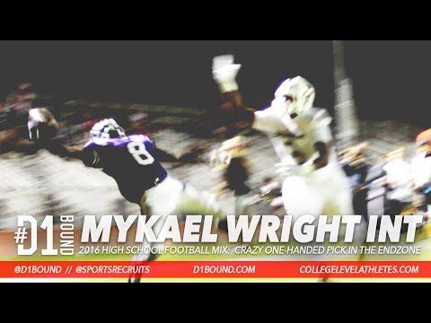 INTERCEPTION OF THE YEAR.  2019 ATH Mykael Wright (Valencia) - CollegeLevelAthletes.com