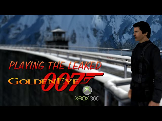 GoldenEye Leaked XBOX Gameplay 🤩🎮