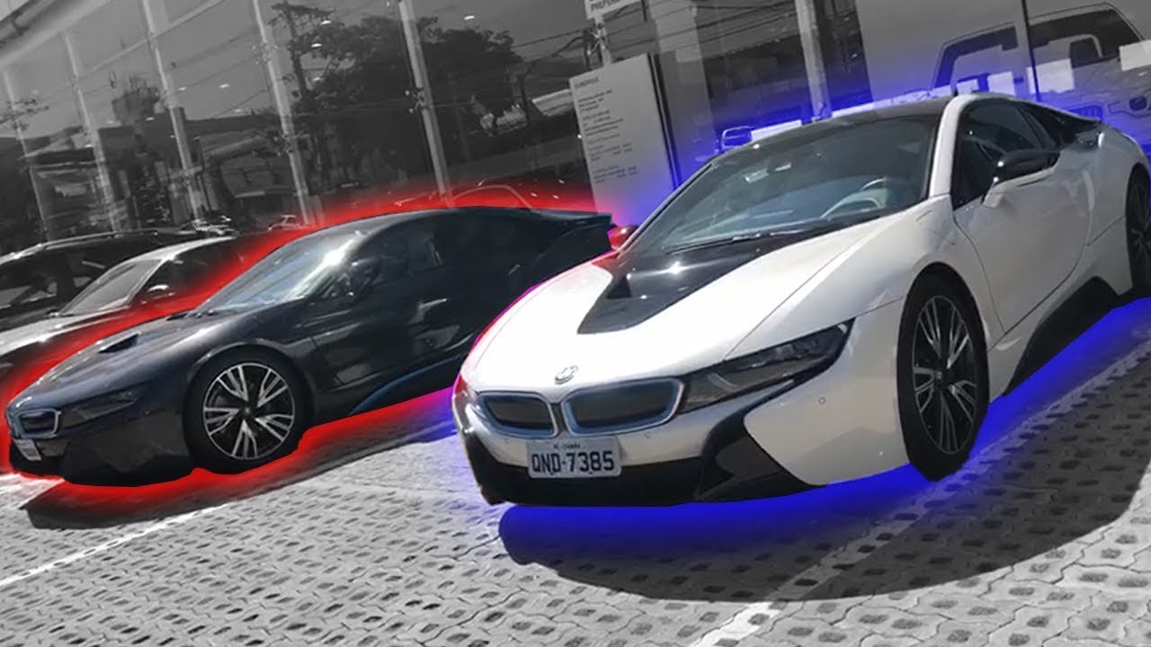 Bmw I8 Do Jon Vlogs Virou Moda No Brasil Cvbr 542 Youtube