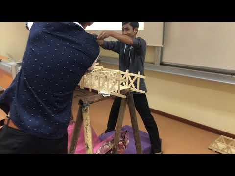 Popsicle Bridge Test - Structural Analysis I