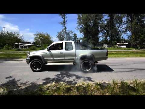 Tiger D4D 3.0L. 4WD burnout
