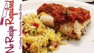 Baked Halibut - Noreciperequired.com