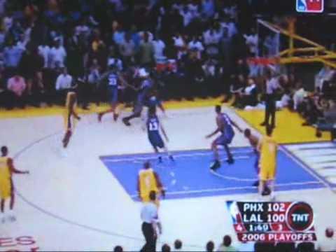 2006 NBA Playoffs Phoenix Suns vs Los Angeles Lakers