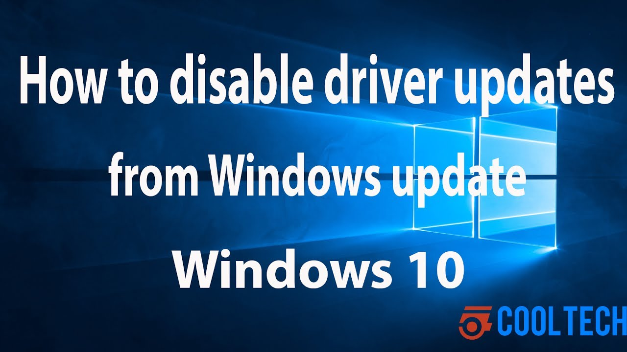 turn on automatic driver updates windows 10