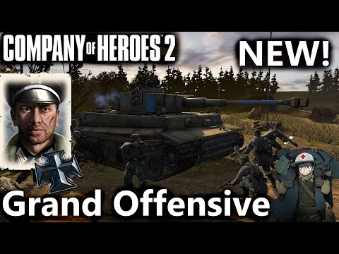 CoH2: OKW Grand Offensive Commander (Company Of Heroes 2)