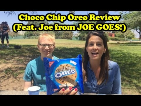 Choco Chip Oreo Review (Feat. Joe from JOE GOES!)