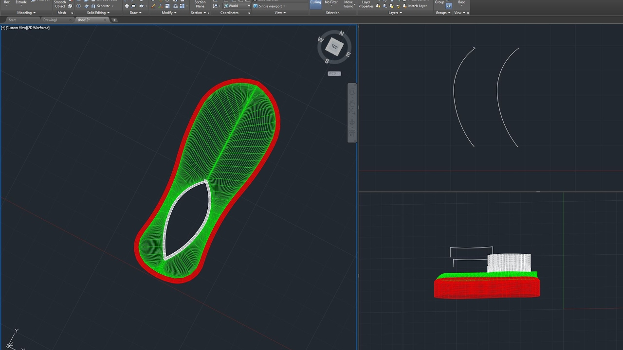 Make full function shoe design tutorial for you by brendon007.