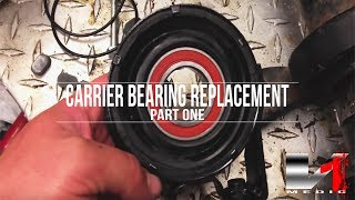 04-07 CTS-V Carrier Bearing Replacement