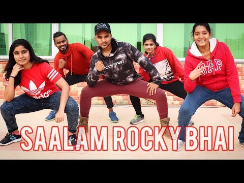 Salaam Rocky Bhai Song dance video | KGF Chapter 1 | Yash | SAAD | SaadStudios