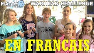 MattyB - The Warhead Challenge - Traduction Française