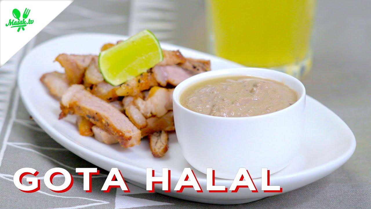 Masak GOTA Gak Pake DARAH | Gota Halal