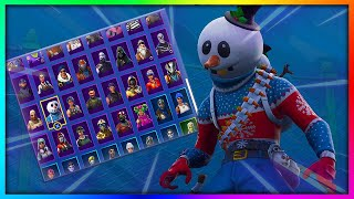 "Before You Buy ""SLUSHY SOLDIER"" - All Skin and Back Bling's Combinations in Fortnite"