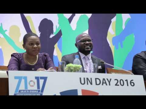 THINK BEYOND EMPLOYMENT    UNITED NATIONS DAY    Anthony Luvanda
