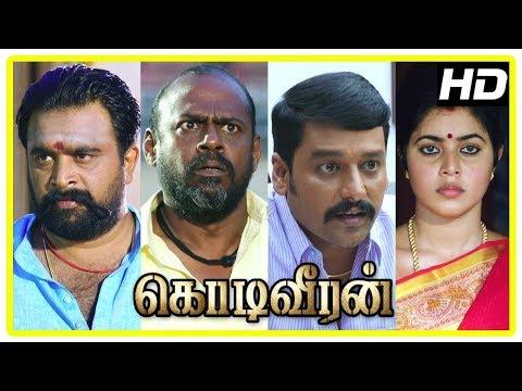 Kodi Veeran Movie Scenes | Sasikumar Meets Vidharth | Sasikumar Invites Pasupathy