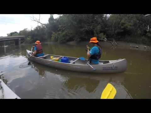 Canoeing Little Calumet River